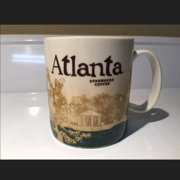 STARBUCKS Atlanta Global Icon Mug 2011 Coffee Cup